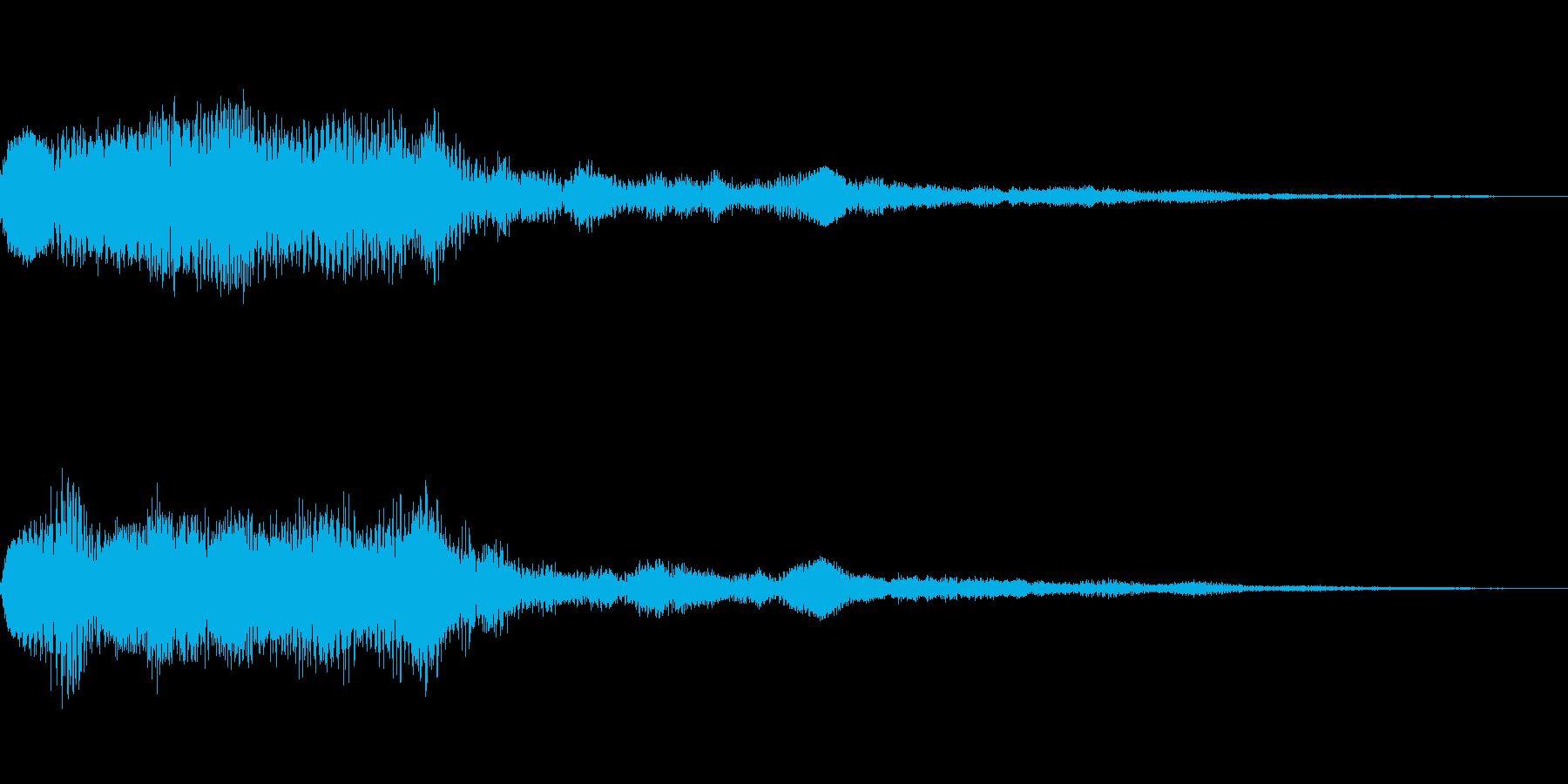 [ポロロン]リザルト(ピコピコ系)の再生済みの波形