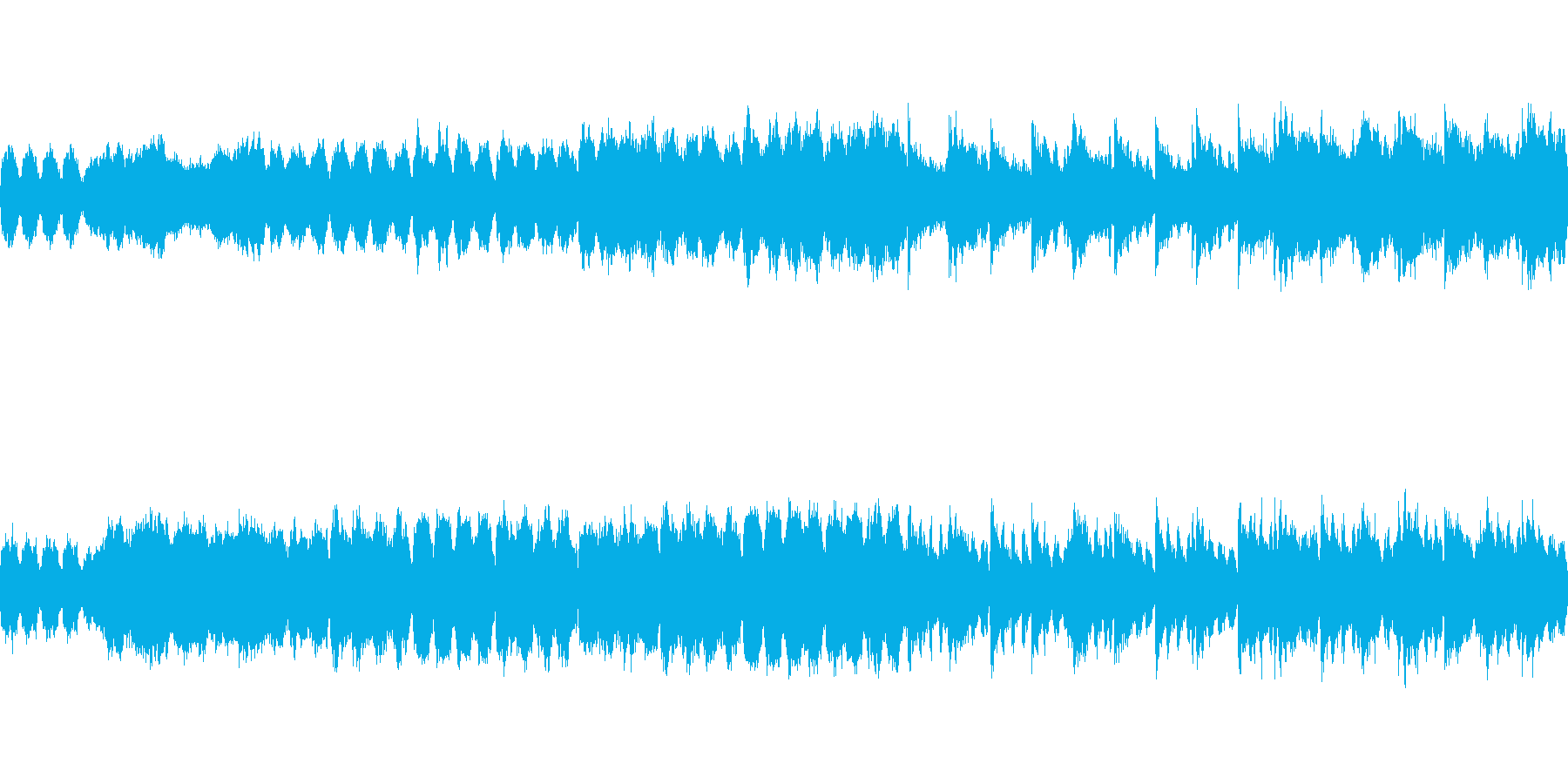 不気味な城 ループの再生済みの波形