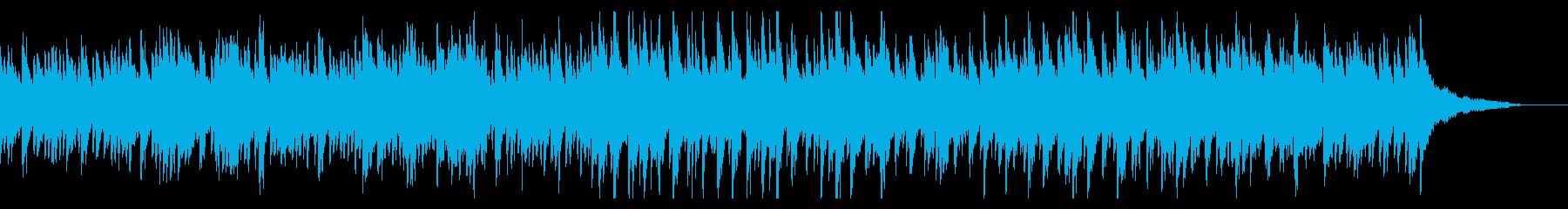 自然体のほのぼのとした日常曲の再生済みの波形