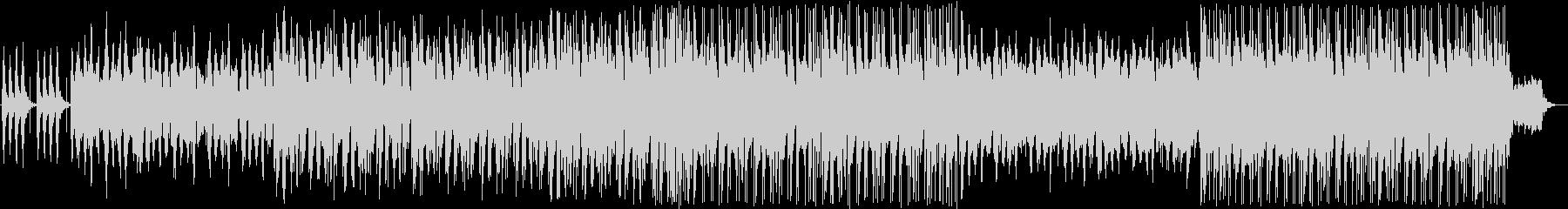 ギターの入ったエレクトロサウンドの未再生の波形