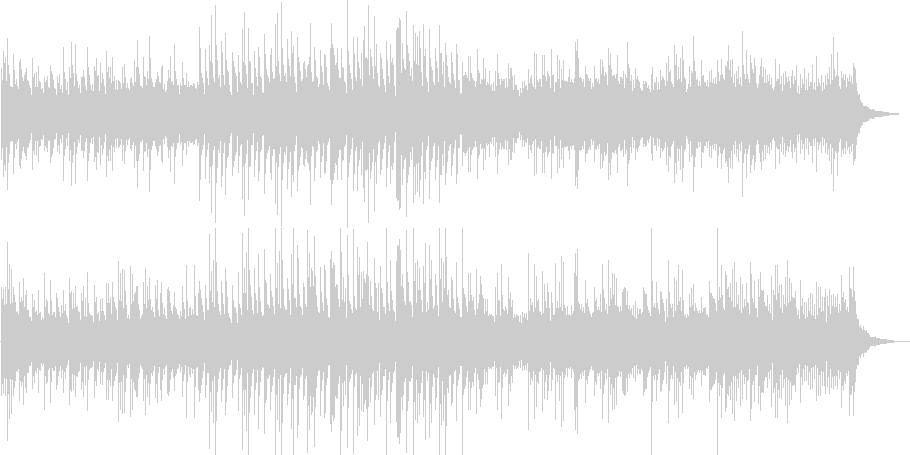 幻想的なピアノ曲ですの未再生の波形