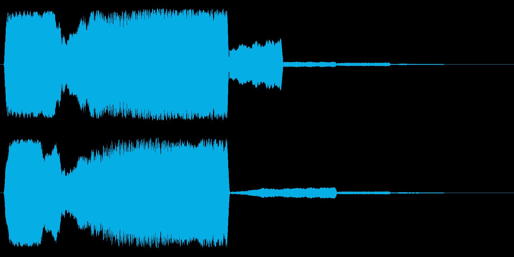 フゥィーーーン(和風、抜刀)の再生済みの波形