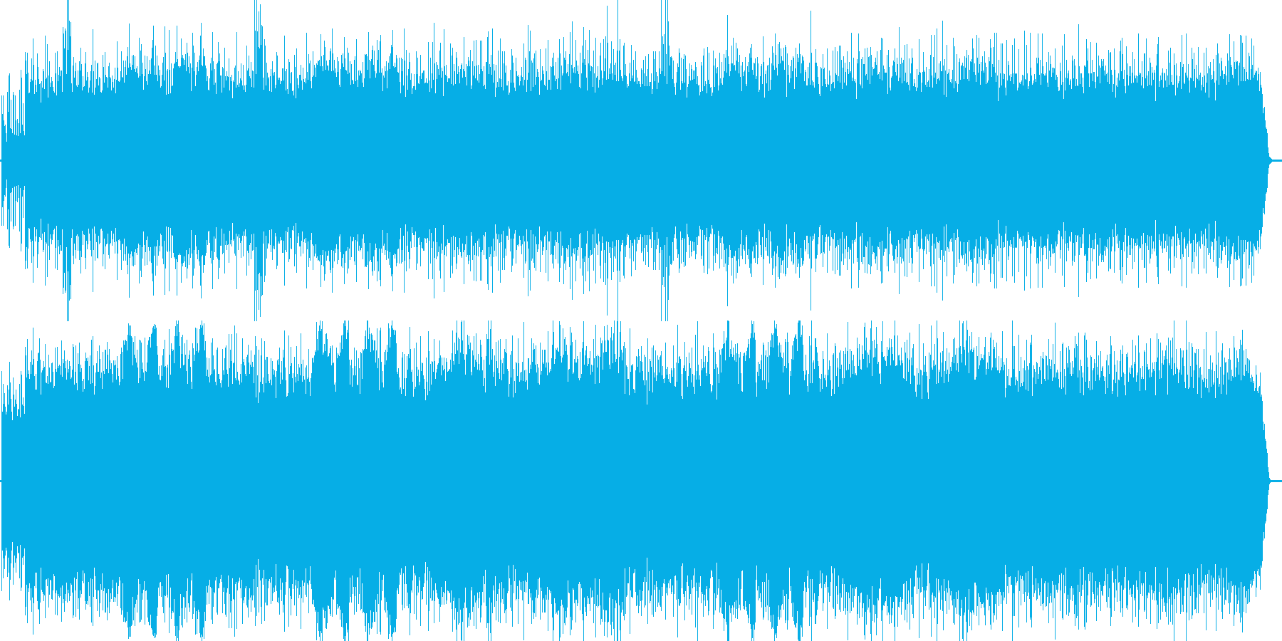 民族音楽風の曲です。の再生済みの波形