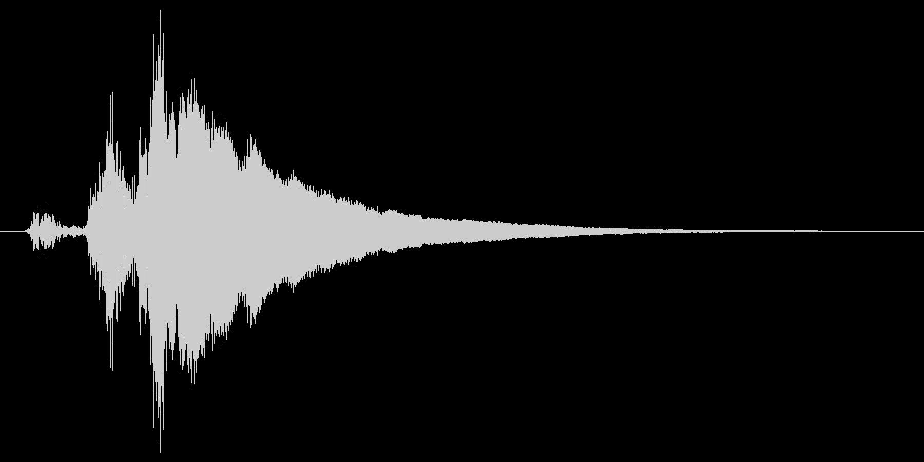 レジの音_チーン_03の未再生の波形
