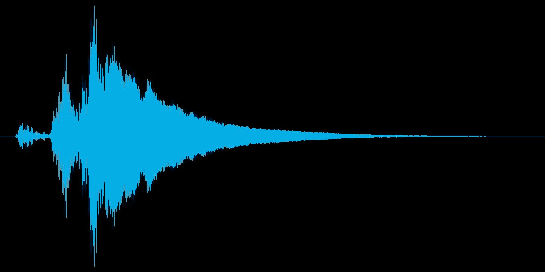 レジの音_チーン_03の再生済みの波形