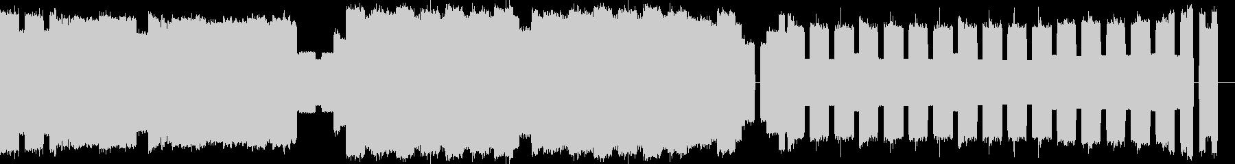 ファ○コン風ファンファーレの未再生の波形