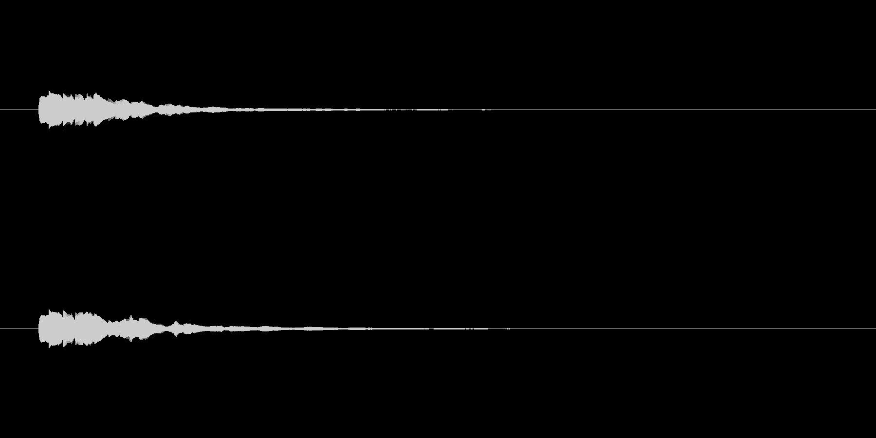 【ショートブリッジ18-3】の未再生の波形