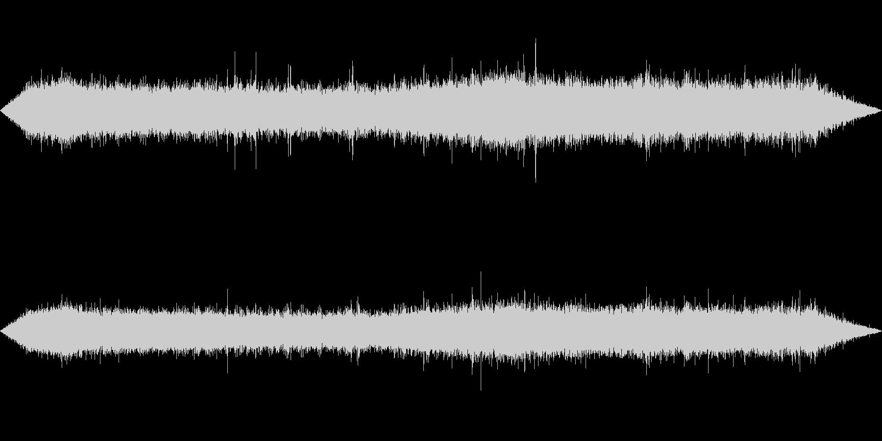 環境音-雨(窓から外を見るイメージ2)の未再生の波形
