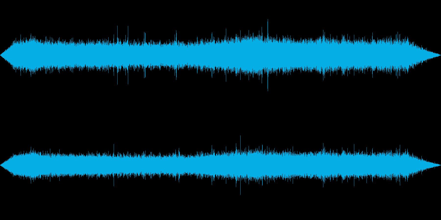 環境音-雨(窓から外を見るイメージ2)の再生済みの波形