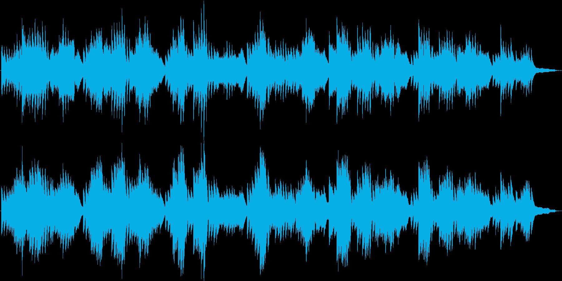 ハートフルな焦りと不安と後悔のピアノソロの再生済みの波形