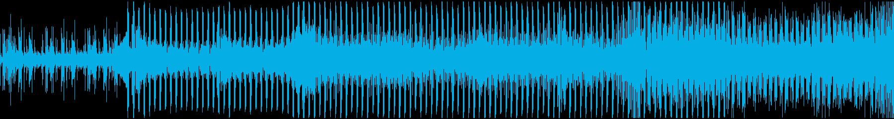 都会的を闊歩する明るいテクノの短ループの再生済みの波形