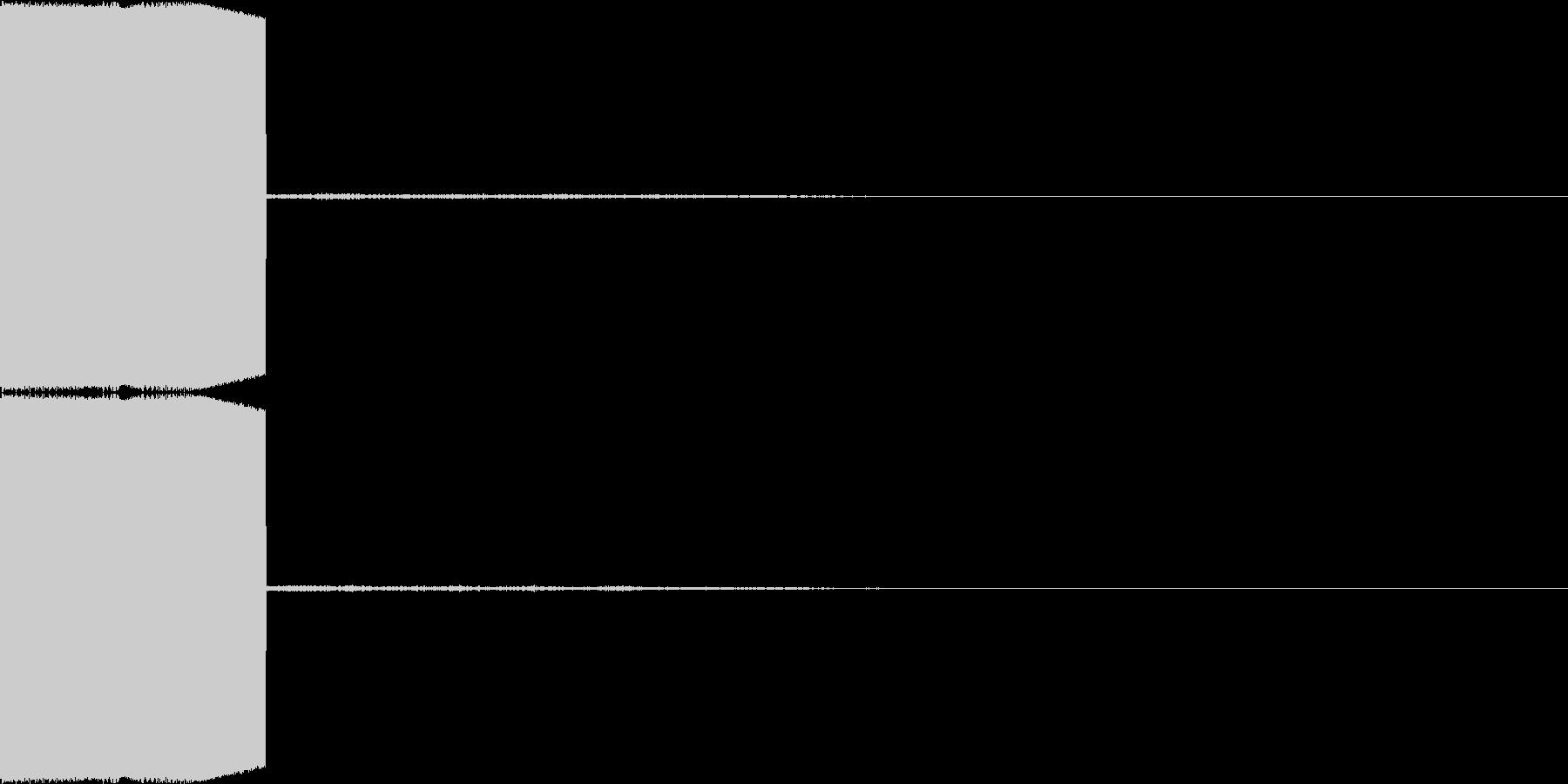 決定音・選択音・入手音【7】の未再生の波形