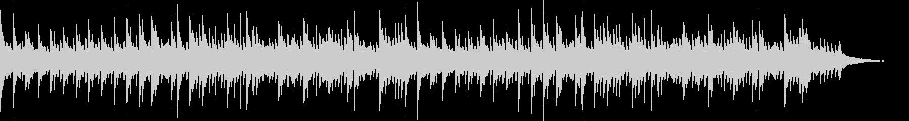 透明感のあるピアノソロBGM_01の未再生の波形