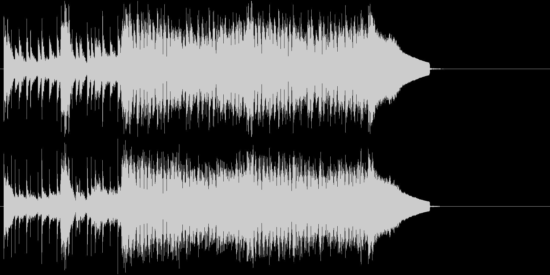 さわやかな雰囲気のストリングスサウンドの未再生の波形