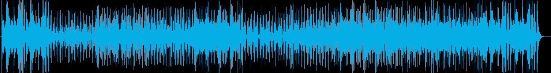 都会的サウンドと心躍るリズムのポップの再生済みの波形