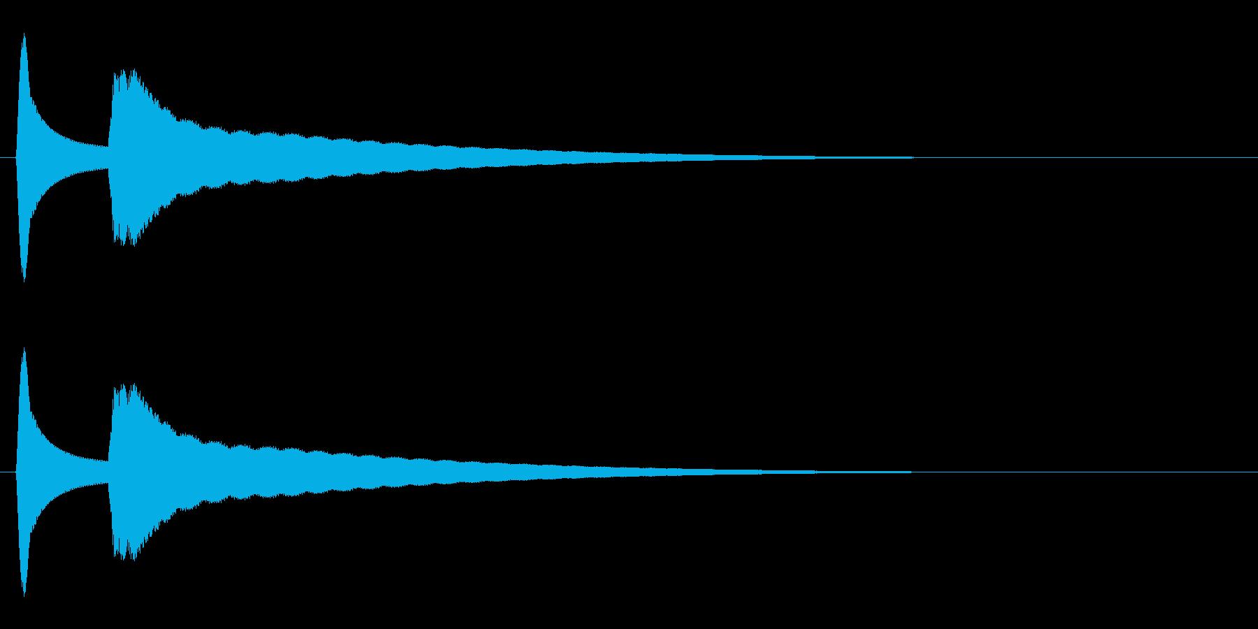 閃く(キュピーン/豆電球/発明)の再生済みの波形