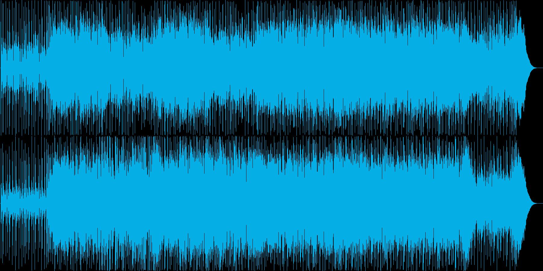 ギターインストポップの再生済みの波形