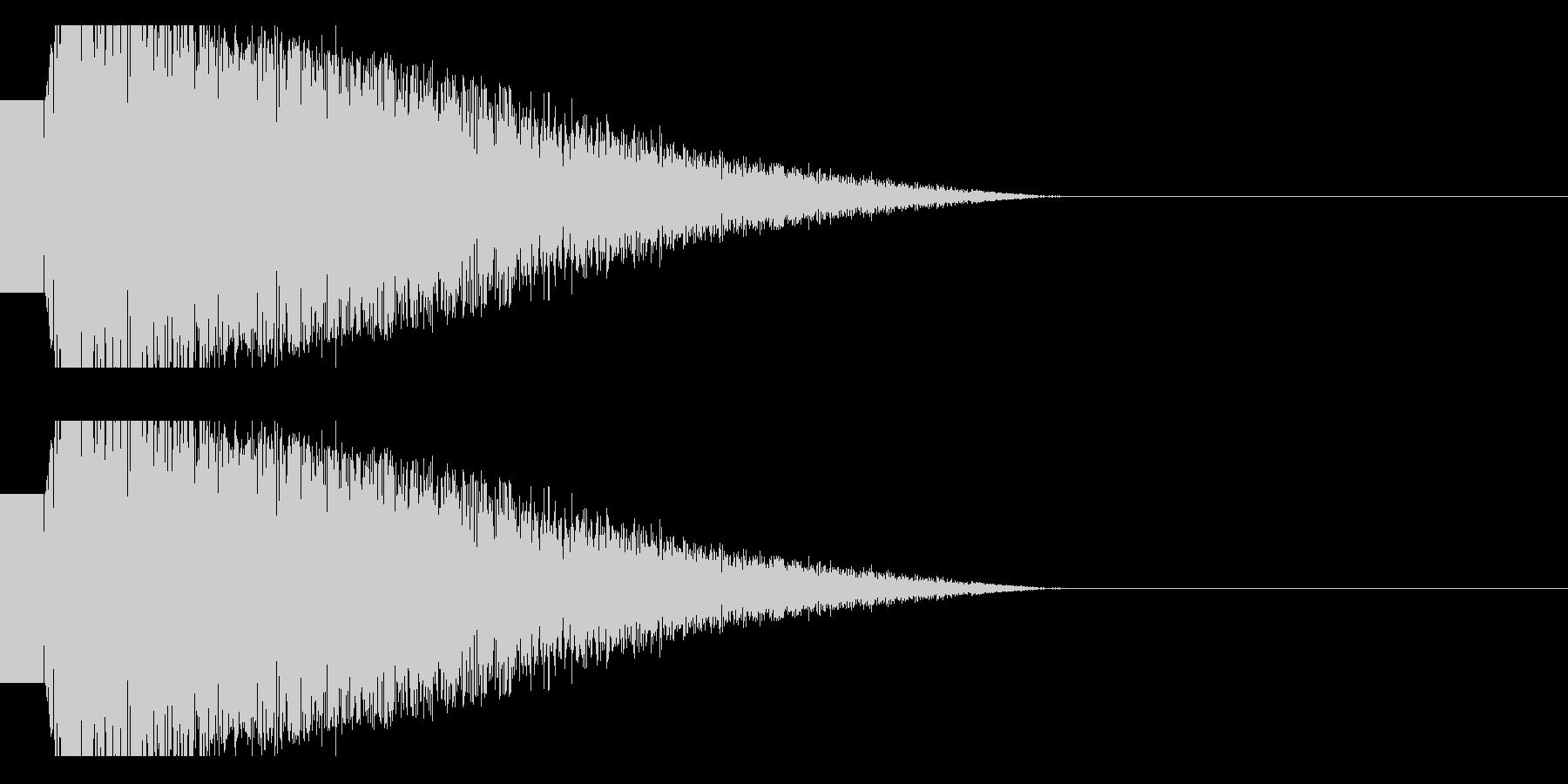 ビームライフル発射音 タイプ4(ショートの未再生の波形