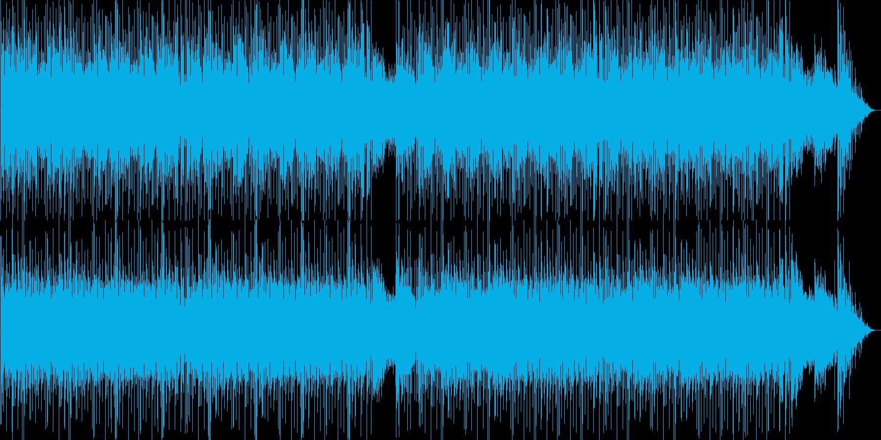 ドキドキ感のシンセポップテクノ系の再生済みの波形