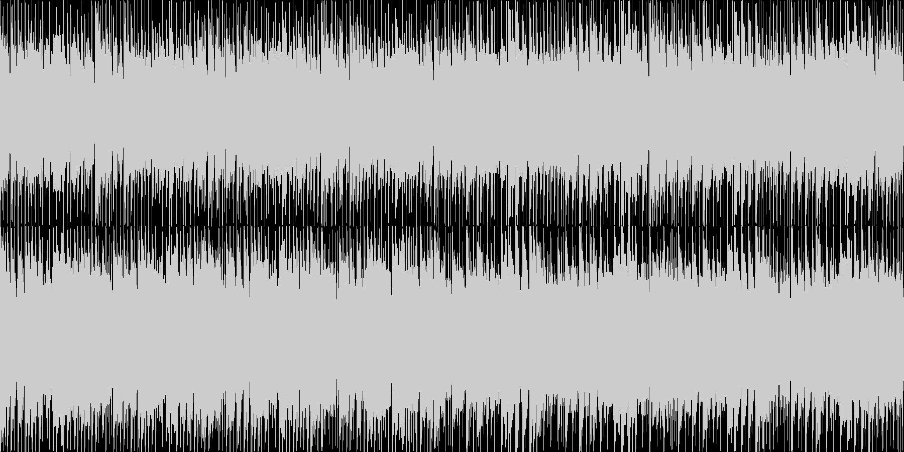 爽やかピアノメロディBGM[ループ仕様]の未再生の波形