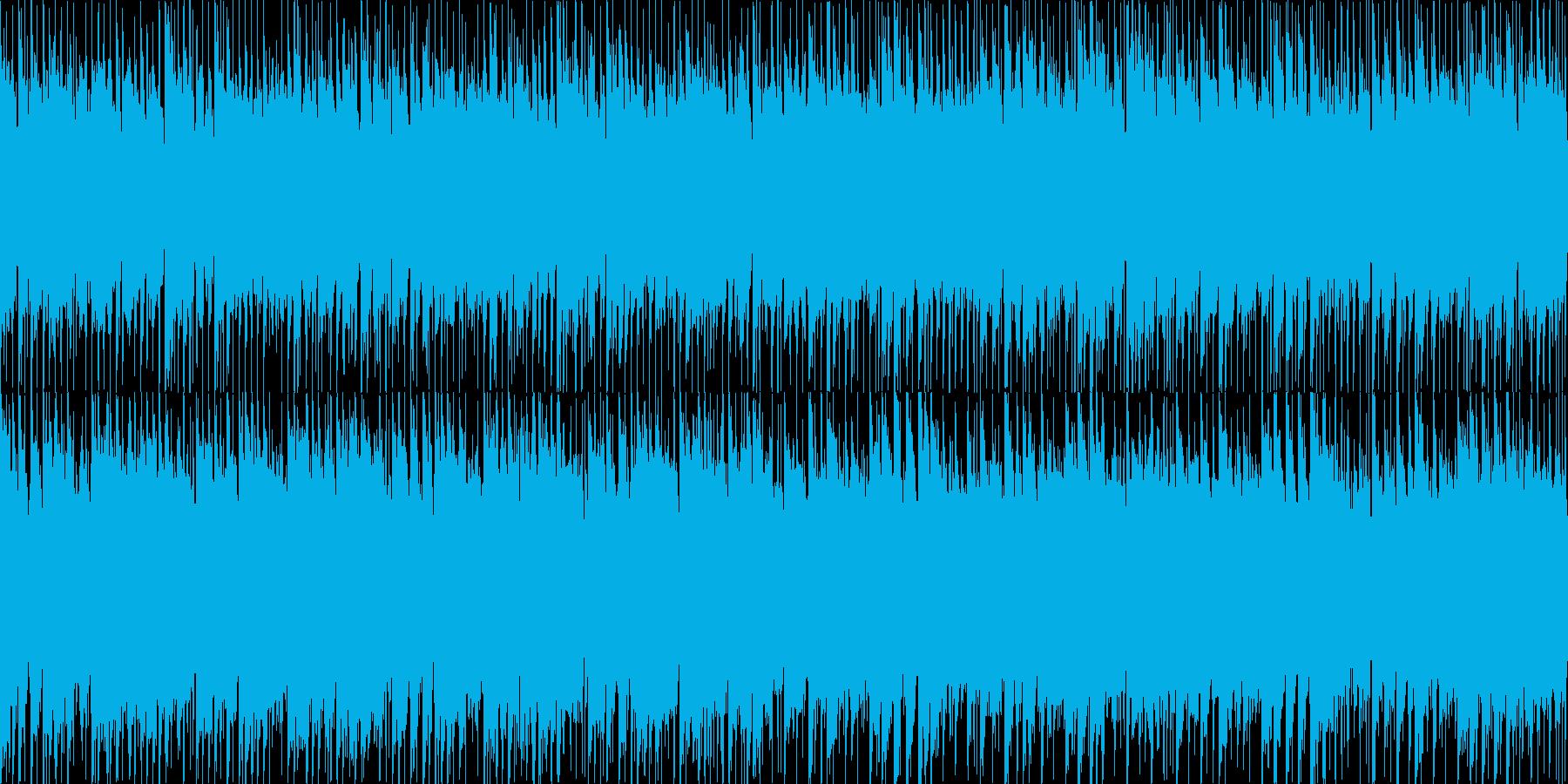 爽やかピアノメロディBGM[ループ仕様]の再生済みの波形