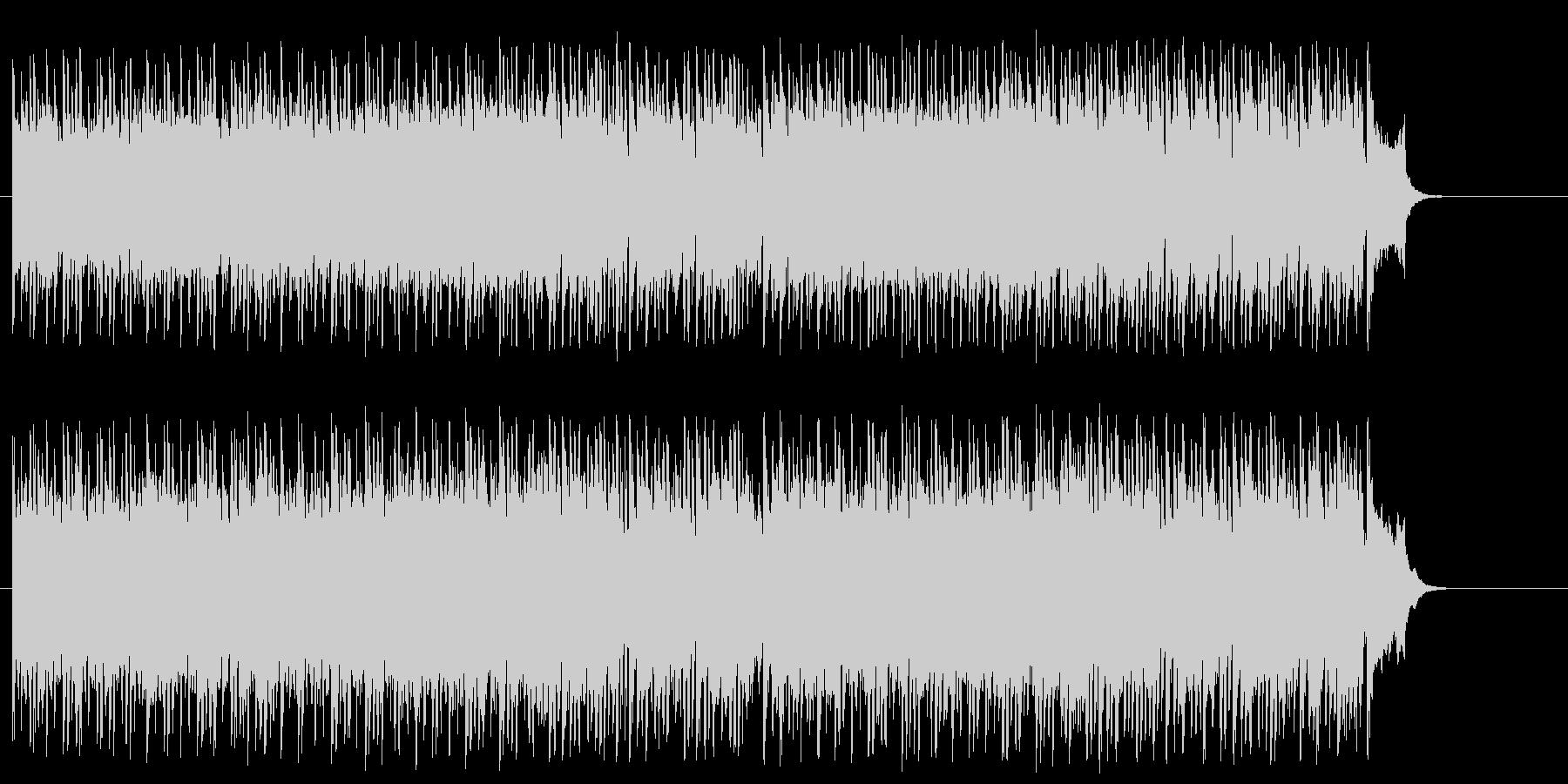 思わず声援をおくりたくなるポップ/ロックの未再生の波形