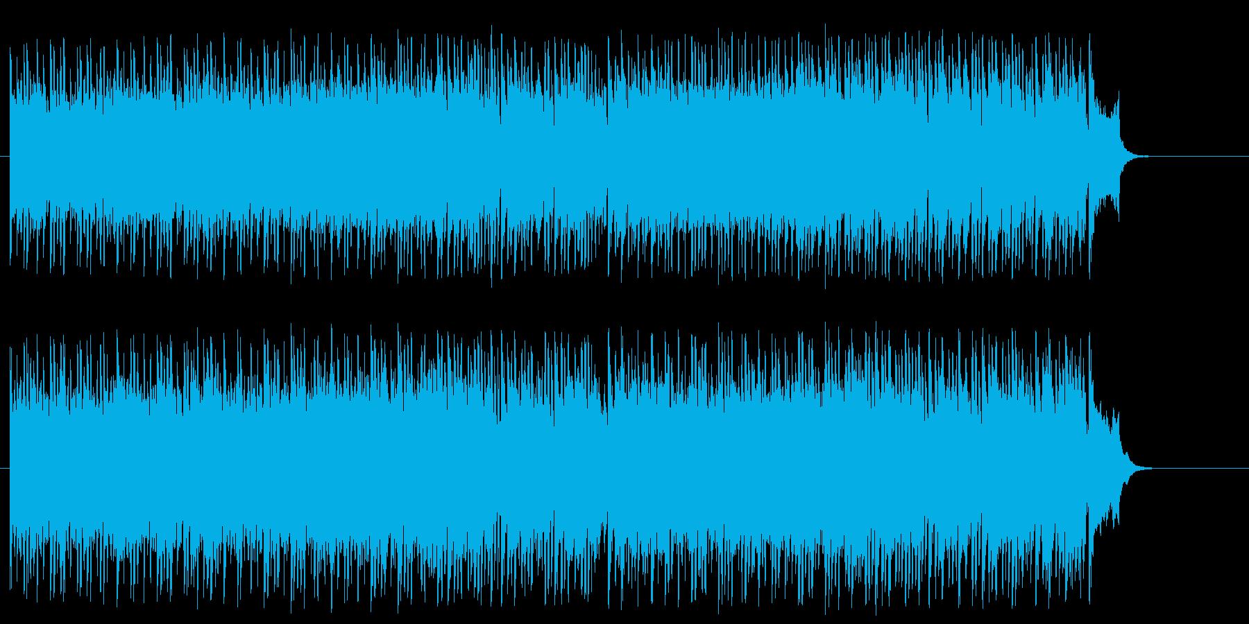 思わず声援をおくりたくなるポップ/ロックの再生済みの波形