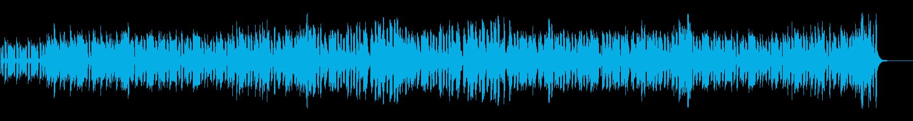 エレピとバイオリン、バンドネオンのタンゴの再生済みの波形