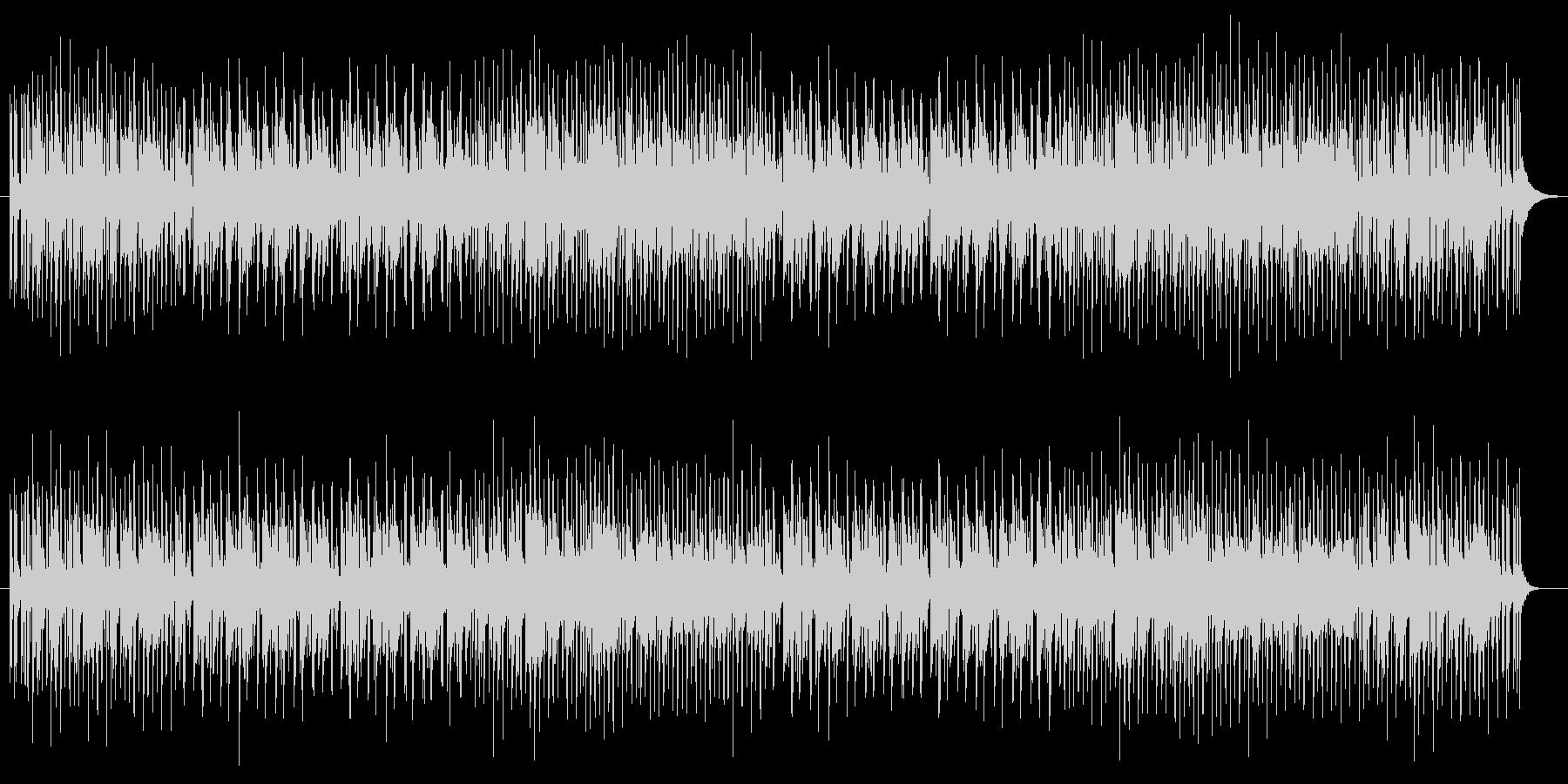 ハイテンションフュージョンサウンド!知…の未再生の波形