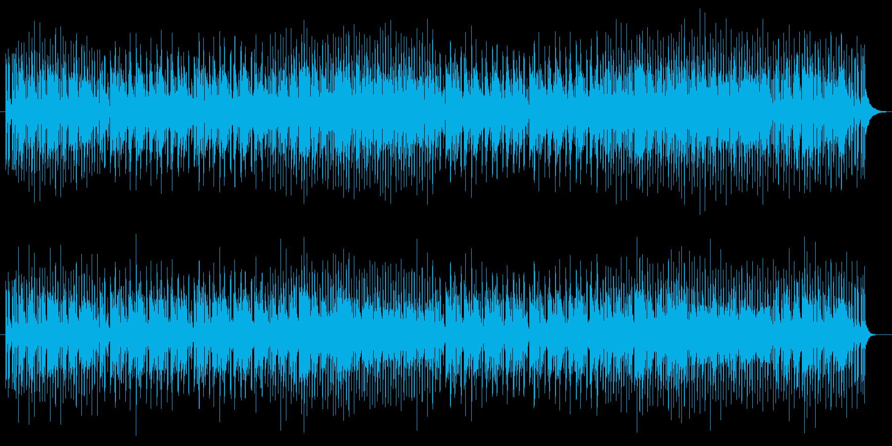 ハイテンションフュージョンサウンド!知…の再生済みの波形