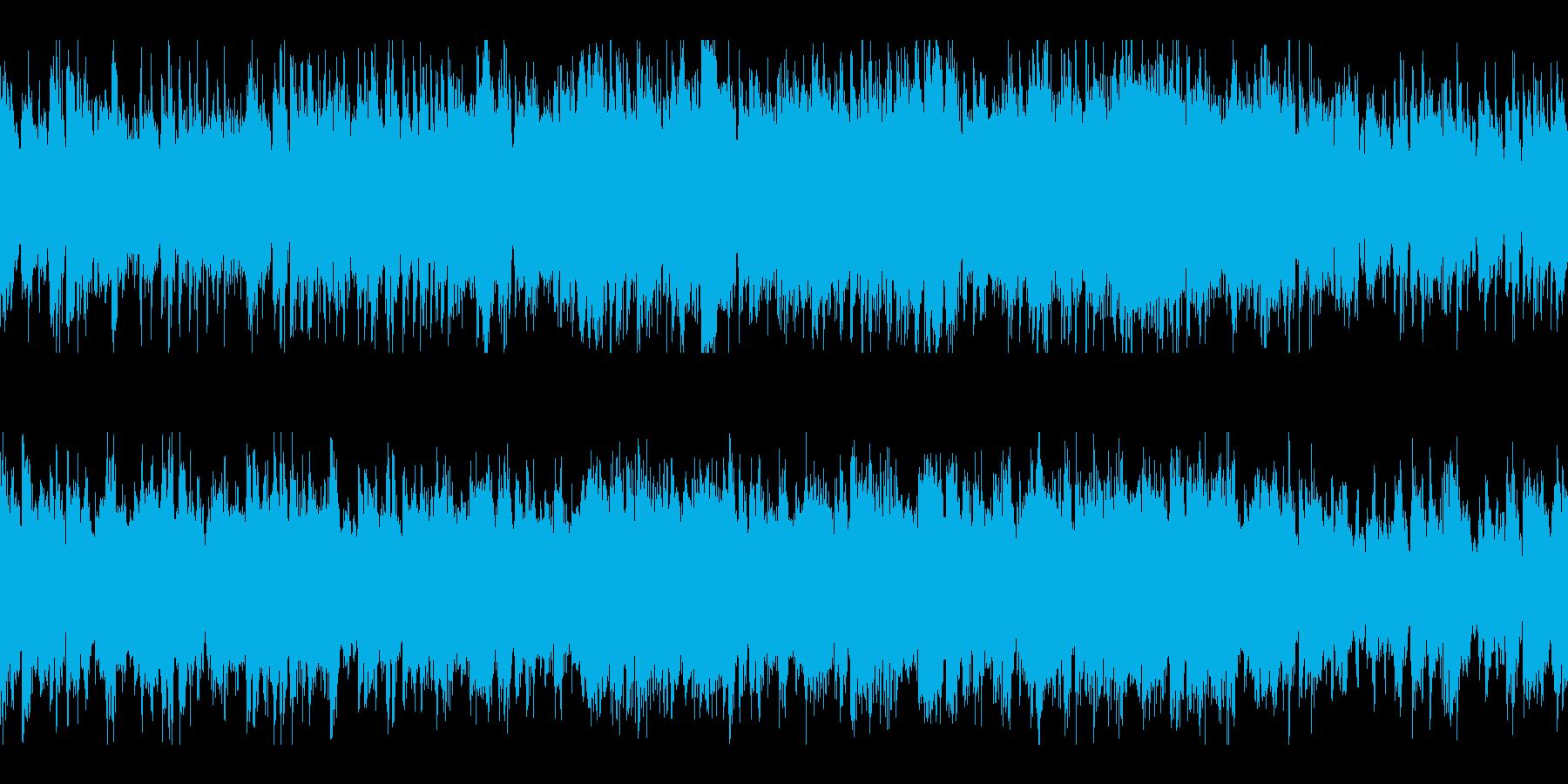 物悲しい緊張感ケルト民族調曲 ループの再生済みの波形