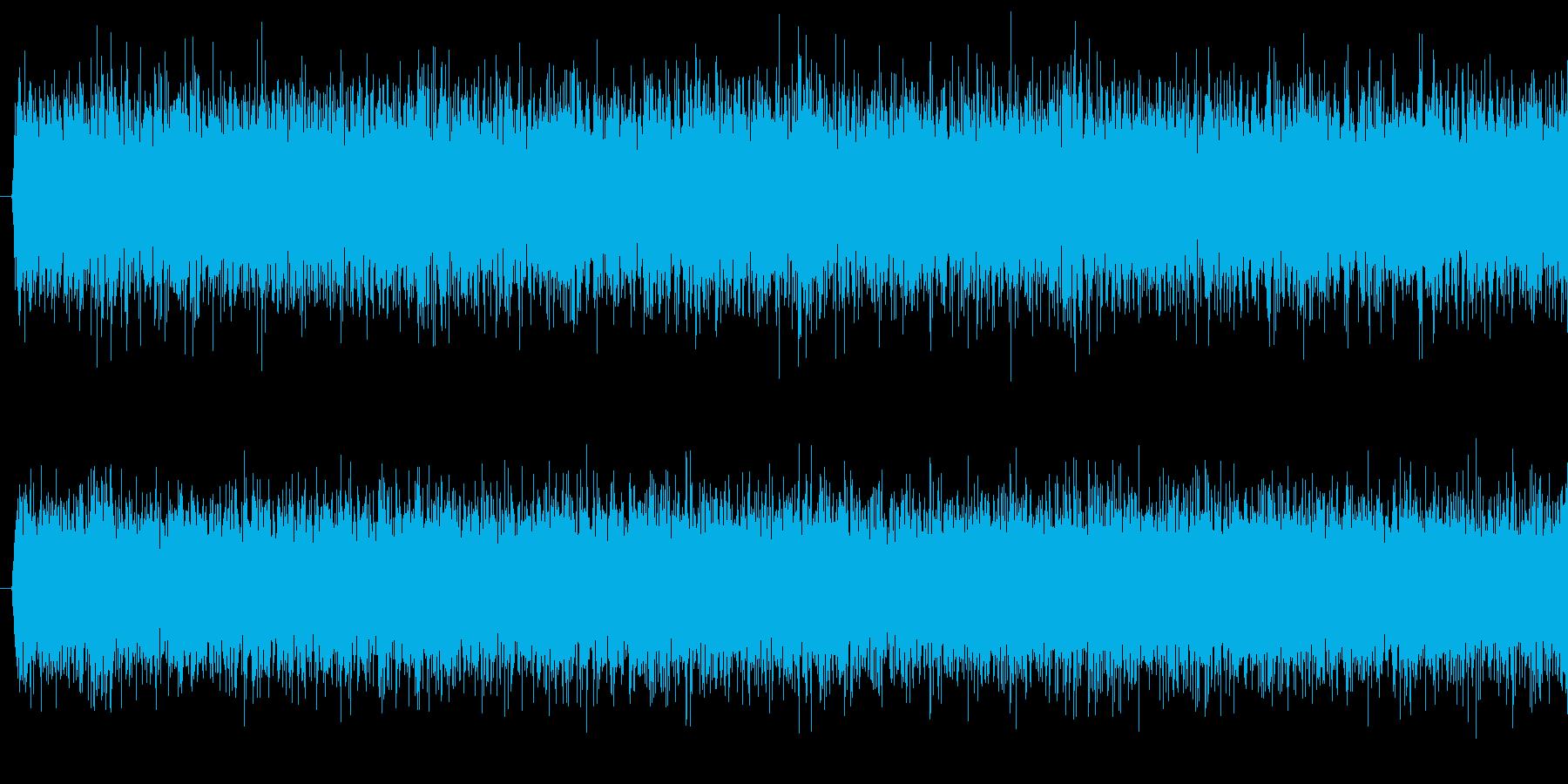 ざざー、という滝の音です。の再生済みの波形