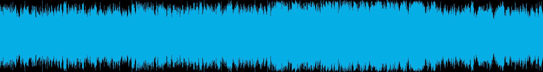 あらすじでかかるようなオーケストラ曲の再生済みの波形