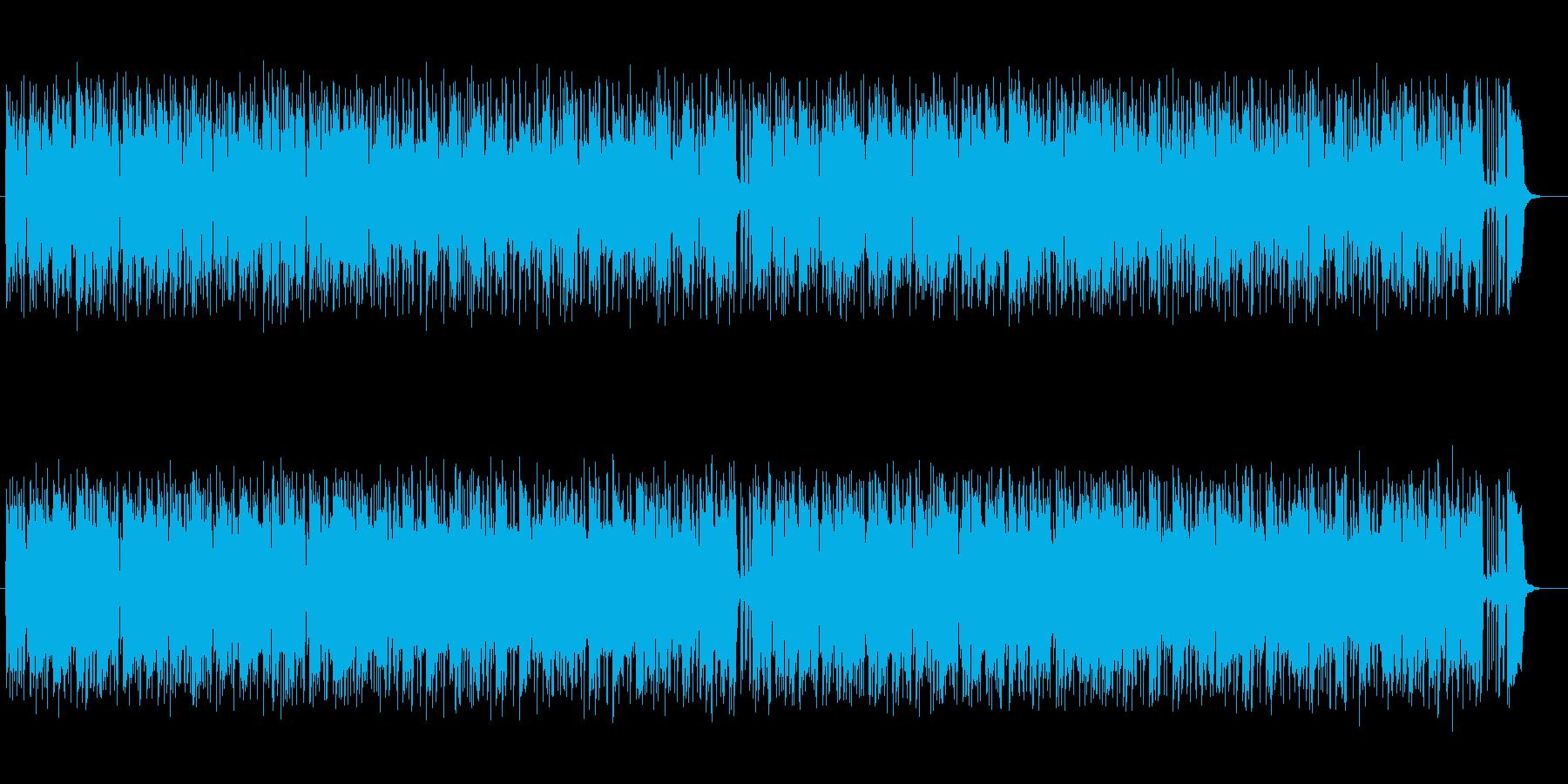 軽やかなギターとテクノ融合ポップサウンドの再生済みの波形