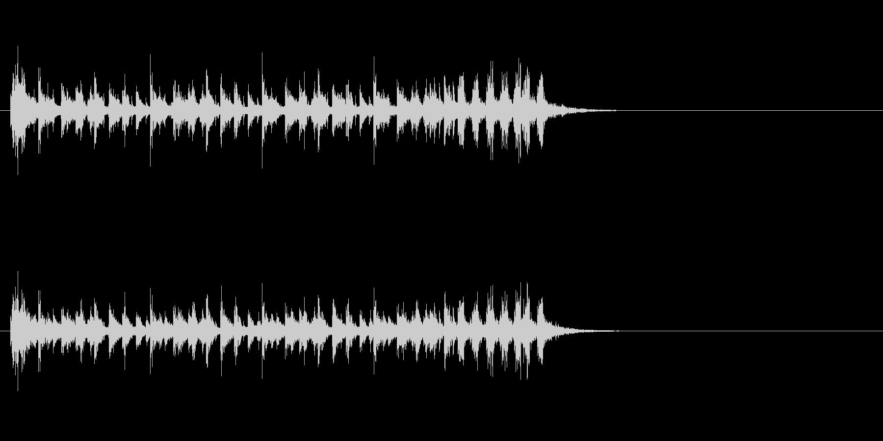 ジングル(ファンキーなハウス系)の未再生の波形
