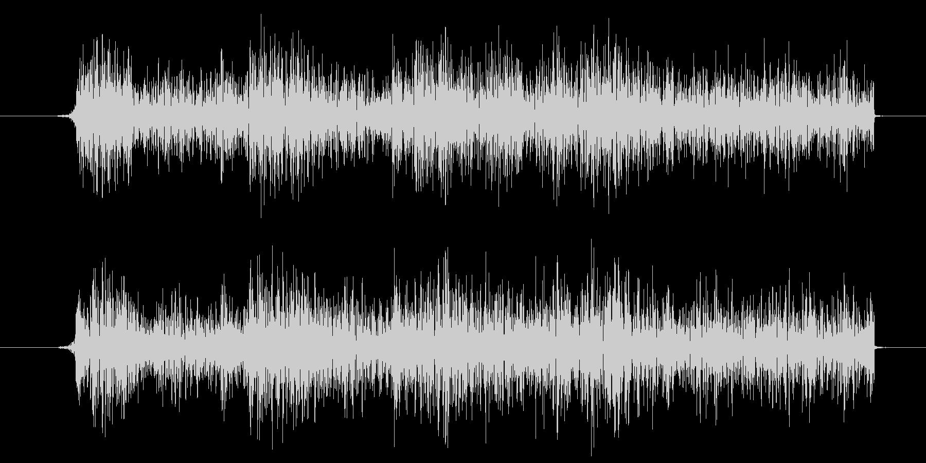 ノイズを意識した短いシーン効果音です。の未再生の波形