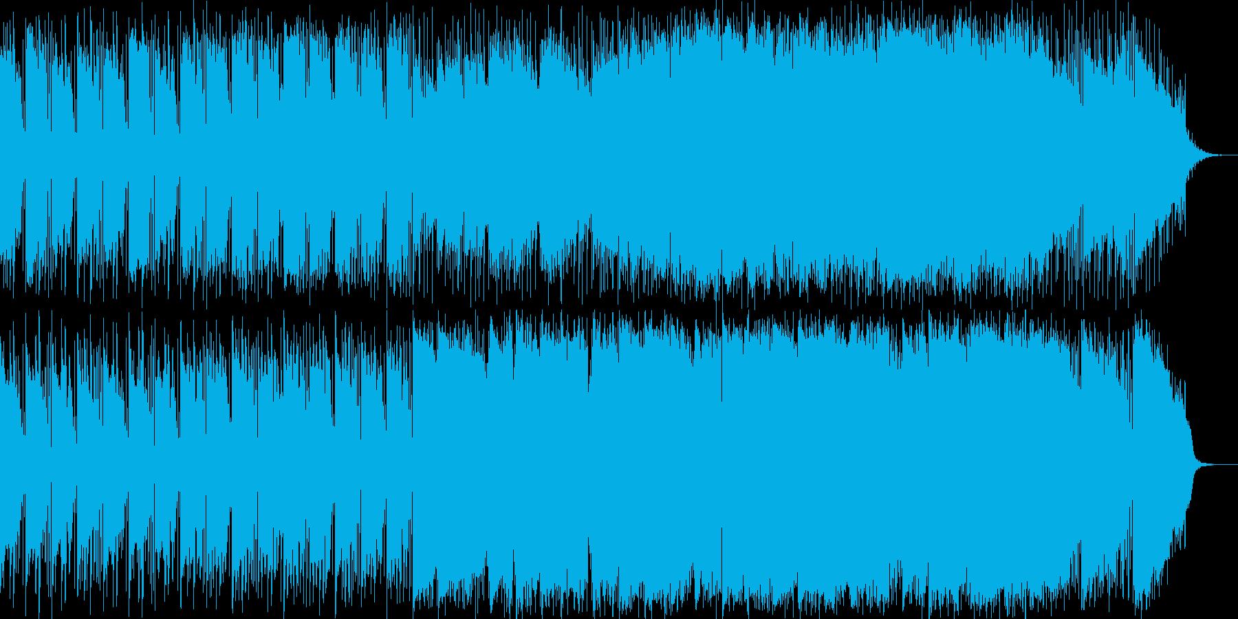 ピアノメインの映画音楽用バラードの再生済みの波形