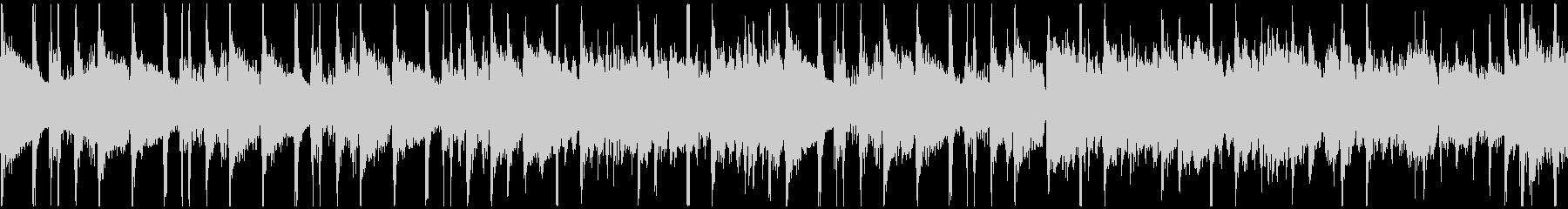 クイズのシンキングタイム、ループ仕様の未再生の波形