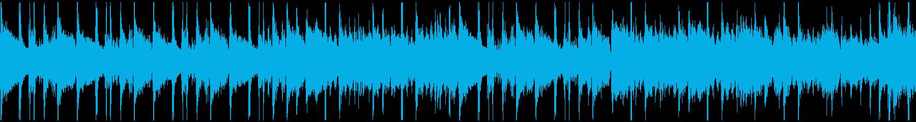 クイズのシンキングタイム、ループ仕様の再生済みの波形