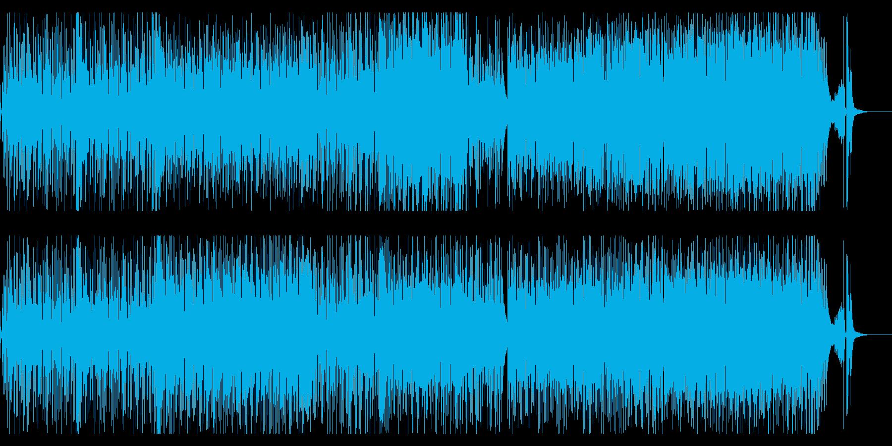 日常のちょっとコミカルなシーンにの再生済みの波形