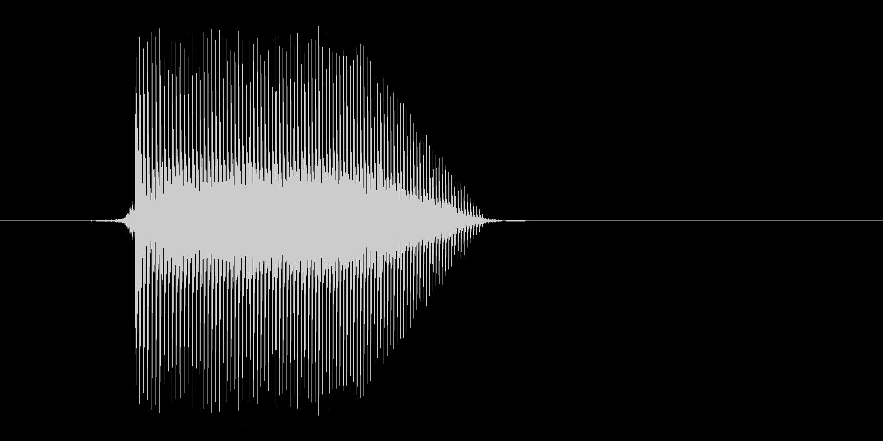 ゲーム(ファミコン風)ジャンプ音_010の未再生の波形