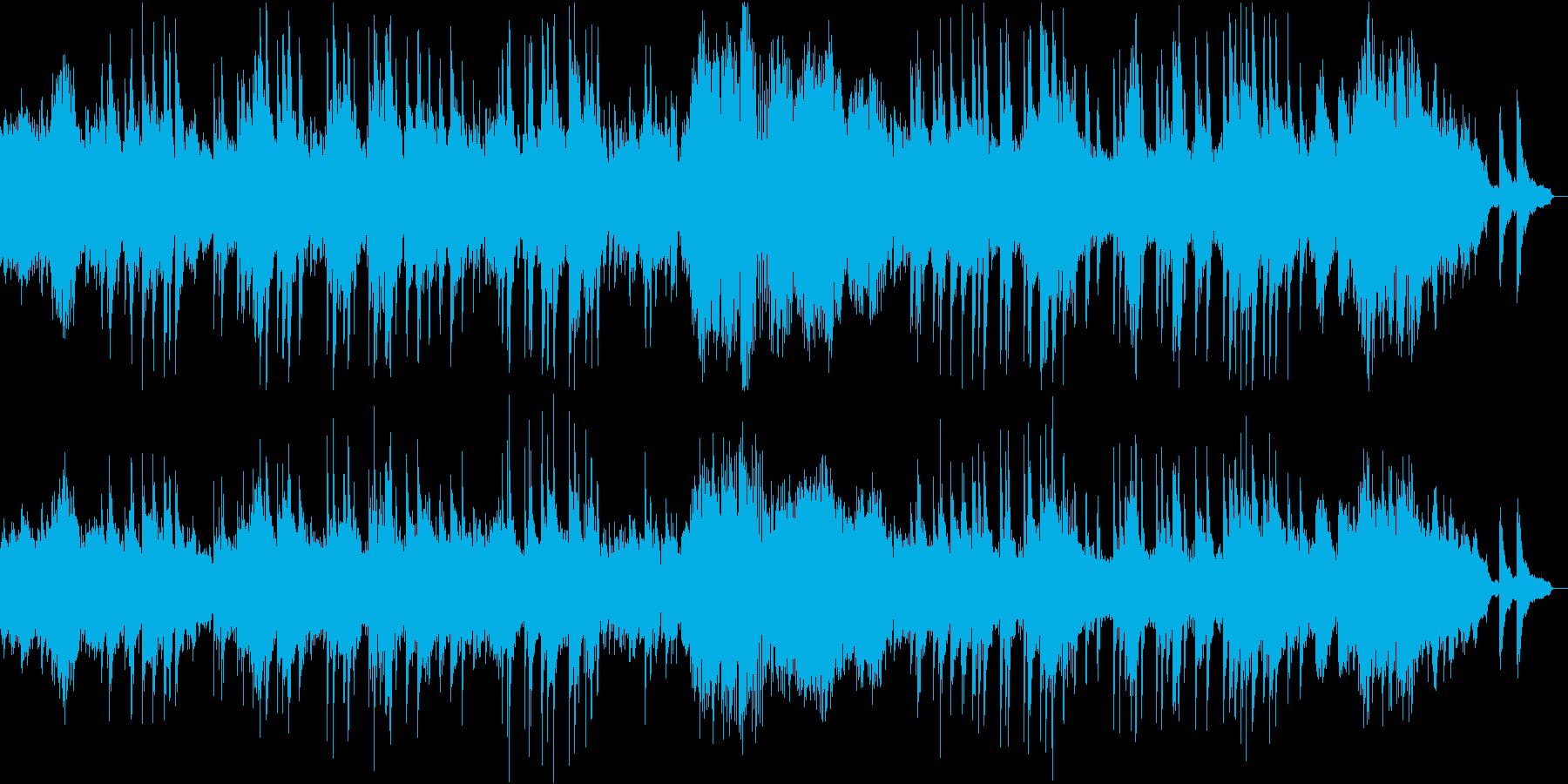 ベートーヴェンのピアノソナタ第14番の再生済みの波形