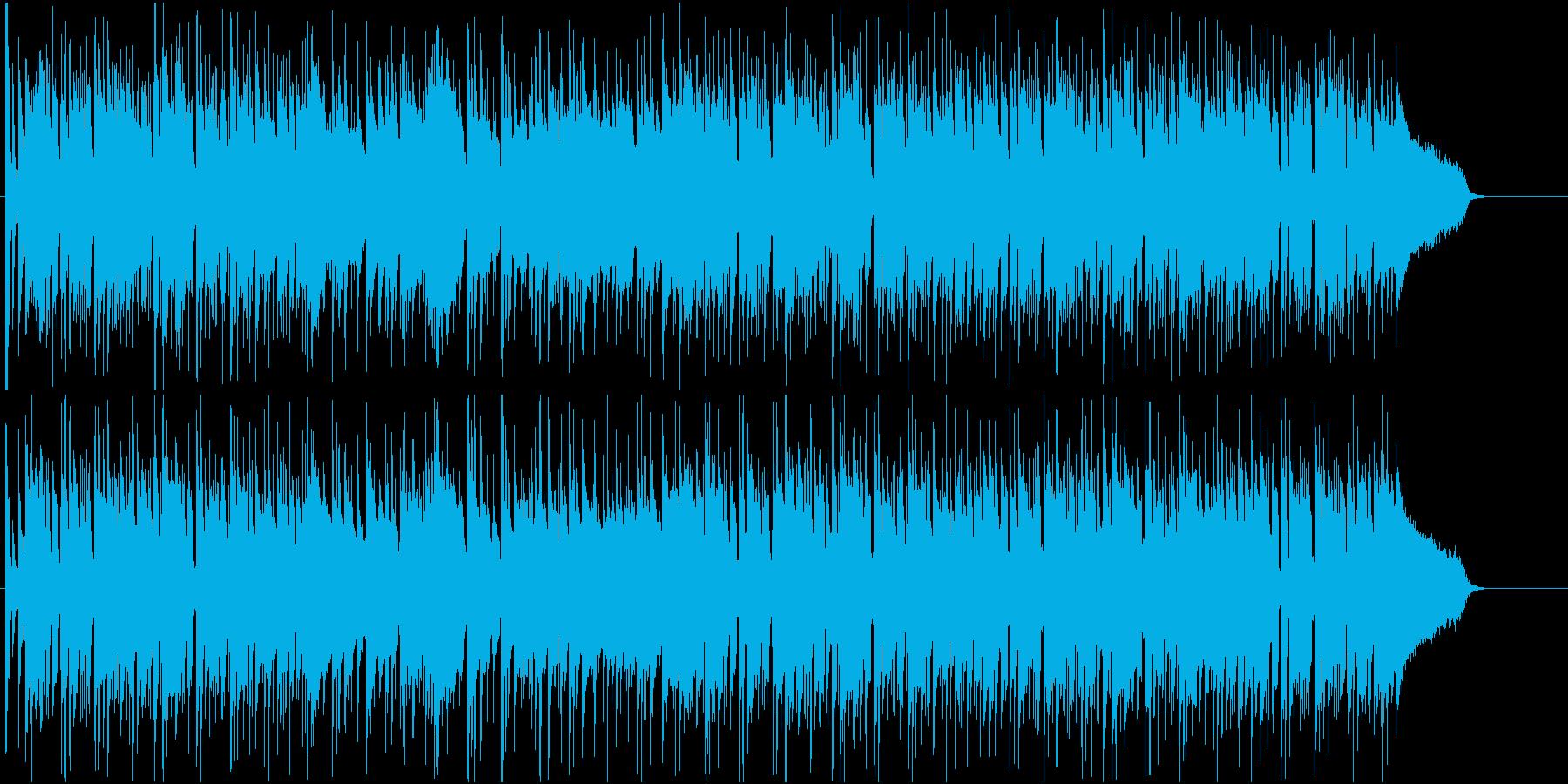 おしゃれな昼下がりを演出するフュージョンの再生済みの波形