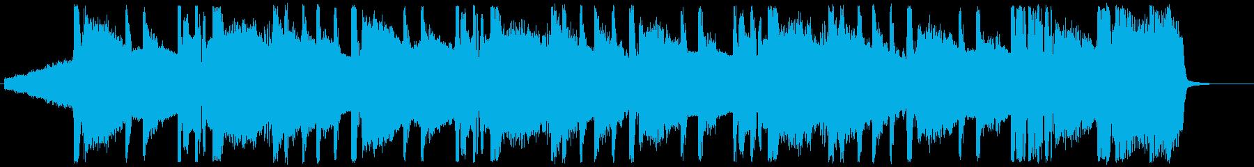 ヒップホップ/超重バス/トラップ#5の再生済みの波形