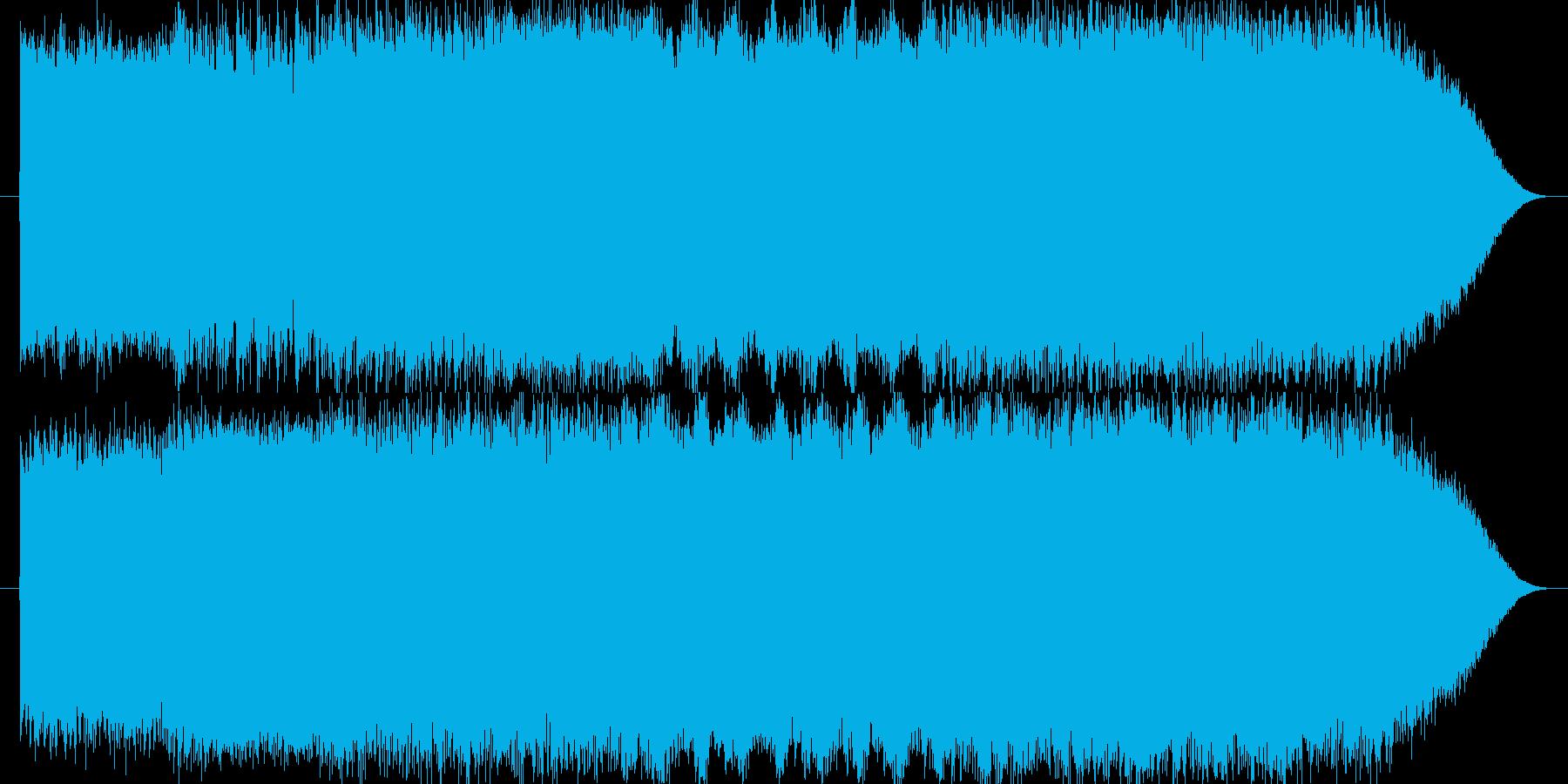 疾走感のあるファンタジーオーケストラの再生済みの波形