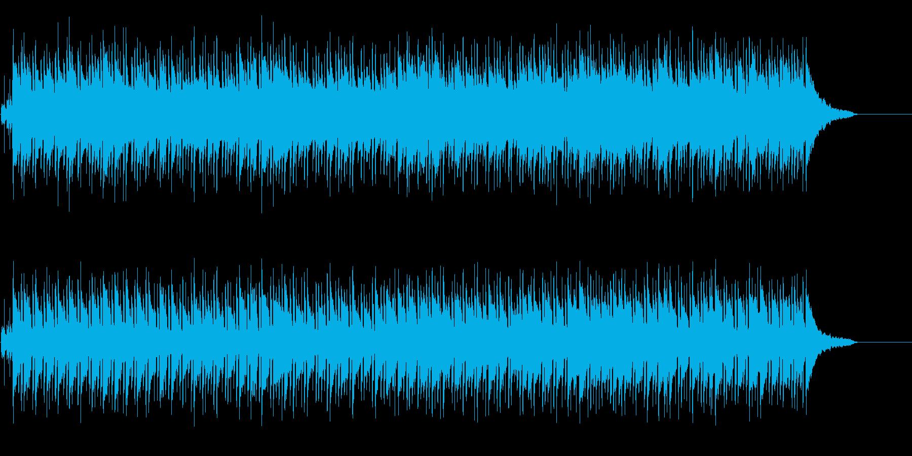 粘着力のあるしんみりメロの再生済みの波形