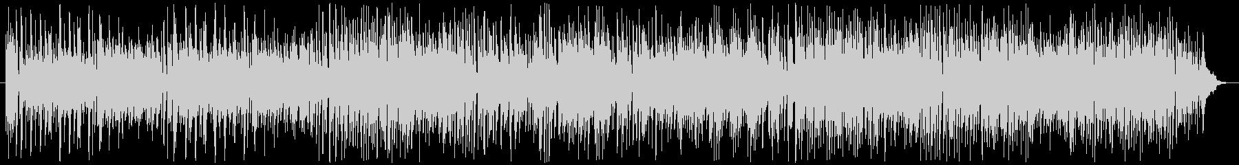 ボサノバ調のかわいらしい曲の未再生の波形
