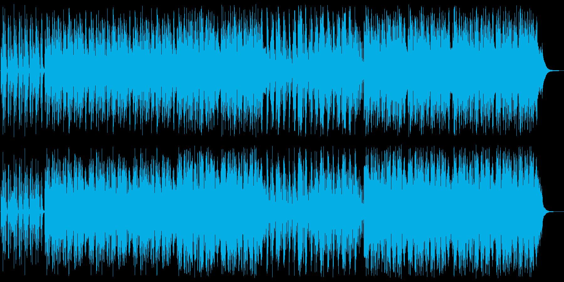 爽やかで映像に合う感動系ピアノハウスの再生済みの波形