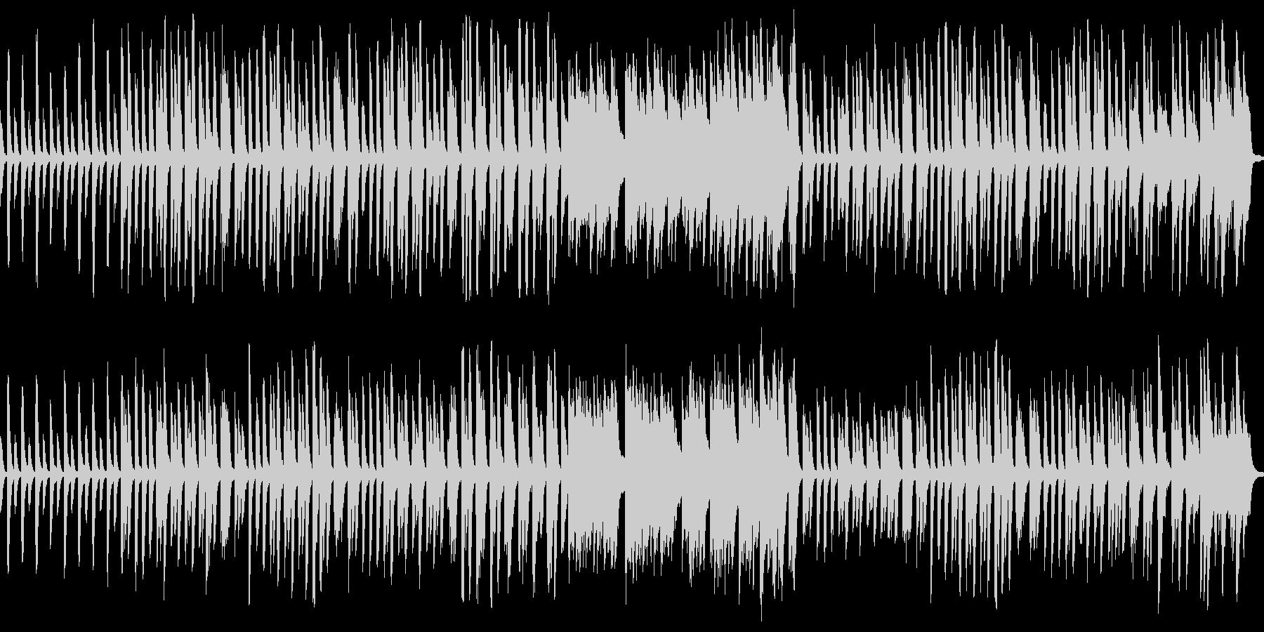 こんぺい糖の踊り ピアノアレンジの未再生の波形