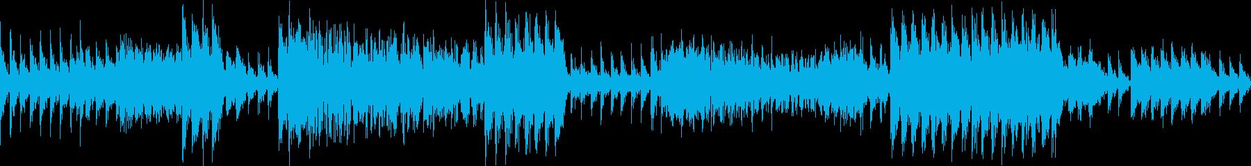 ダダ..ドドド。銃撃戦(短・爆発音あり)の再生済みの波形